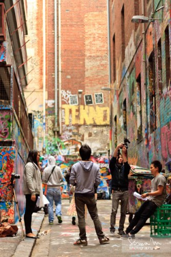 Melbourne City Center - Laneways